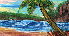 How to Draw a Scene Using Oil Pastels