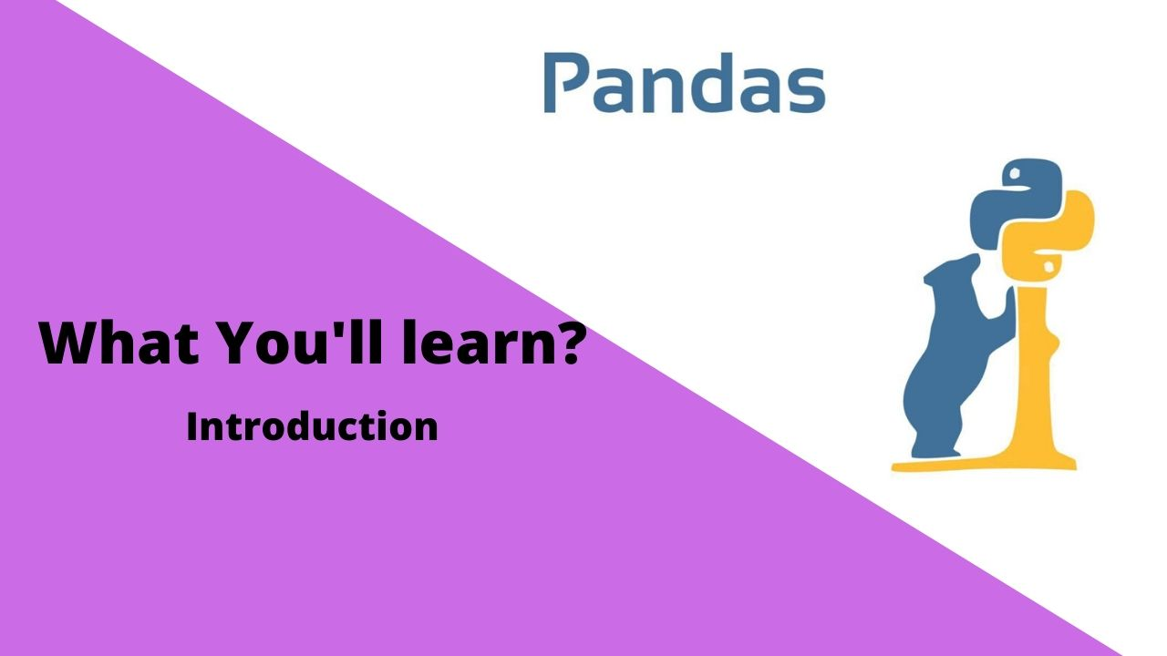 Python Pandas Library Full Tutorial