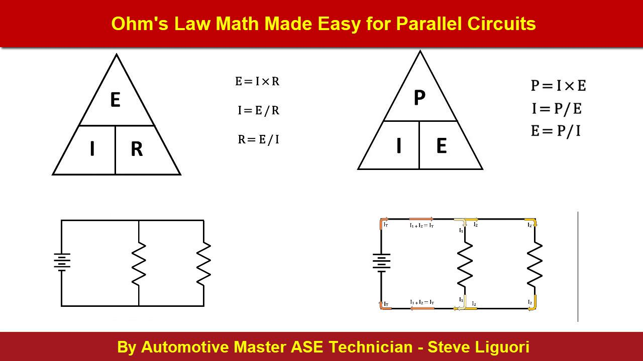 Ohms Law Math Made Easy for Parallel Circuits