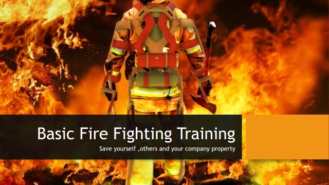 Basic Fire Fighting