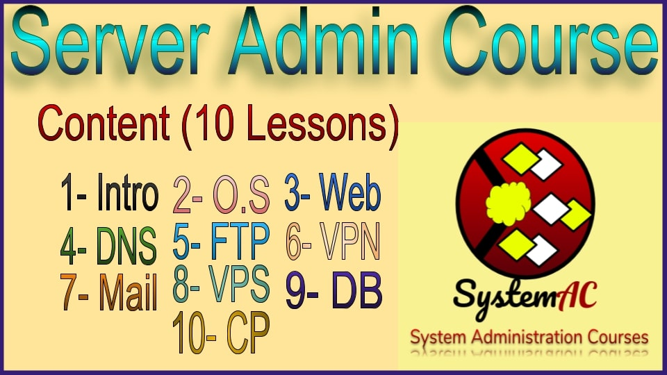 Servers learning lessons playlist | Server Administration Course | server administration training