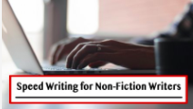 Speed Writing for Non-Fiction Writers Video Course