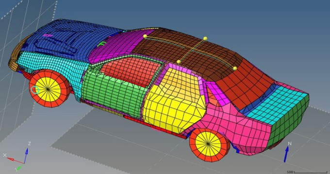 Altair Hypermesh : Learn Meshing and Linear Static Analysis