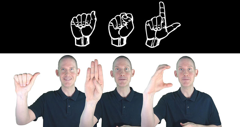 ASL | American Sign Language | The Alphabet