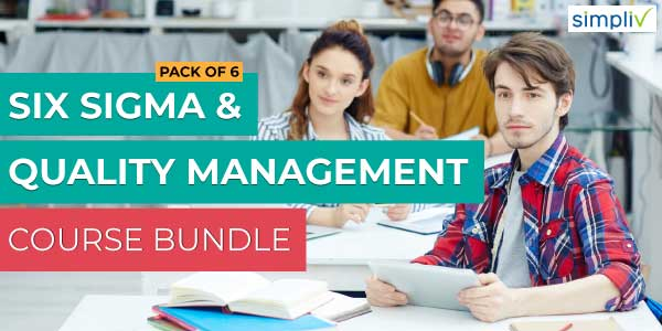 Pack of 6 - Six Sigma And Quality Management Course Bundle