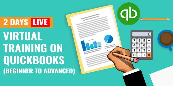 2 Days Live Virtual Training on QuickBooks