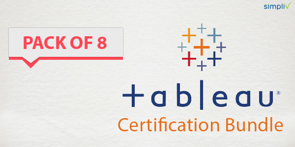 Pack of 8 - Tableau Certification Bundle