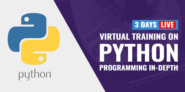 3 Days Live Training on Python Programming In-Depth