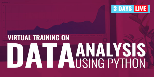 3 Days Live Training on Data Analysis using Python