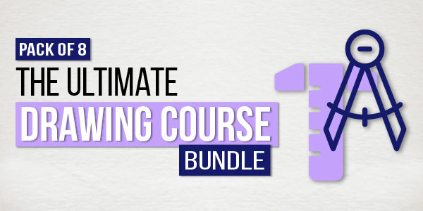 Pack of 8 - The Ultimate Drawing Course Bundle