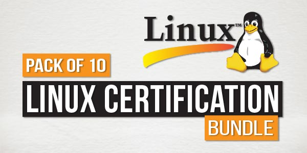 Pack of 10 - Linux Certification Bundle