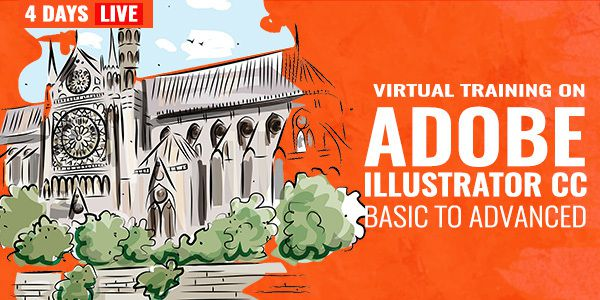 4 Days Live Training on Adobe Illustrator CC Basic to Advanced Training