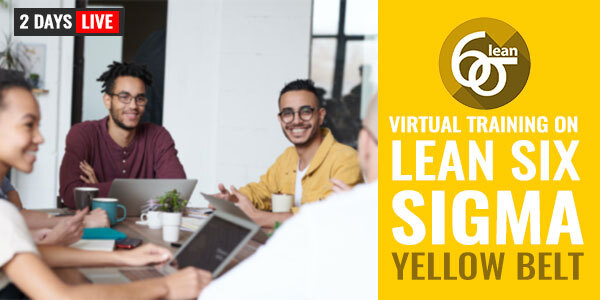 2 Days Live Training on Lean Six Sigma Yellow Belt