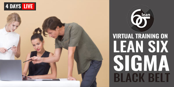 5 Days Live Training on Lean Six Sigma Black Belt
