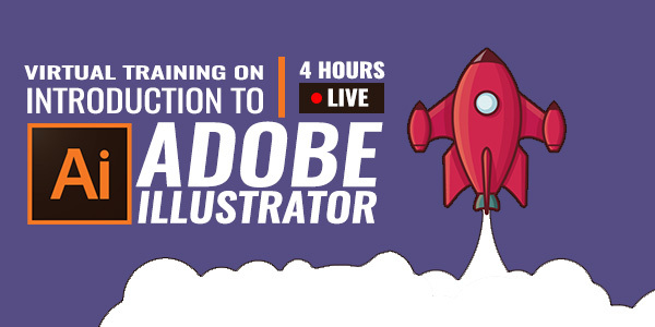 4 Hour Live Training on Introduction to Adobe Illustrator