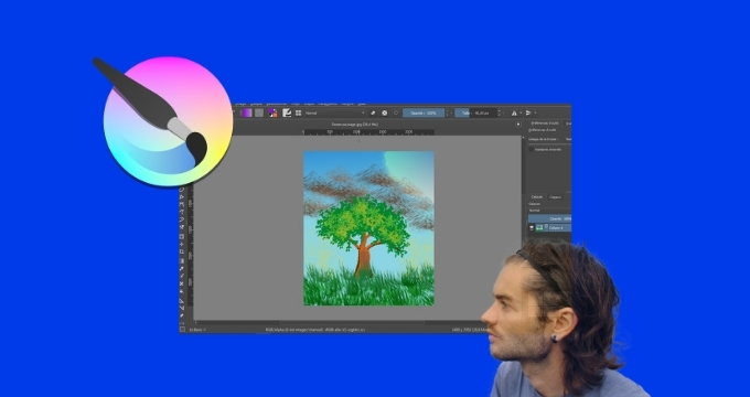 Krita Full Course of Digital Painting Illustration and Photo Editing