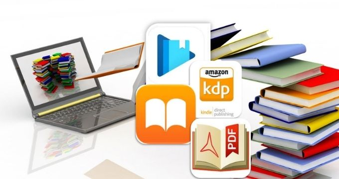 Publish Books in Amazon, Google Play, Apple Books as Pro - How to Sell your books on the 3 big marketplaces