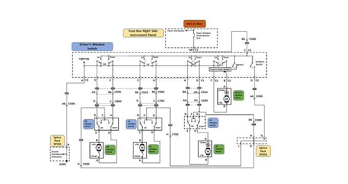 DIY - Automotive Power Window Systems Schematic Diagnosis