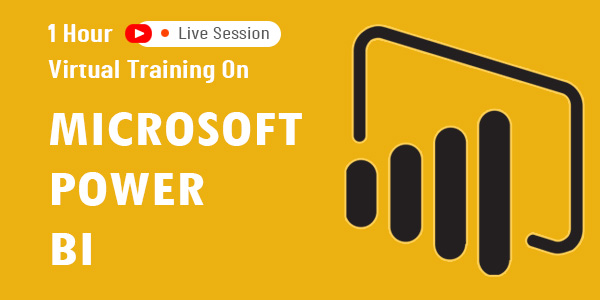 1 hour virtual training on Microsoft Power BI