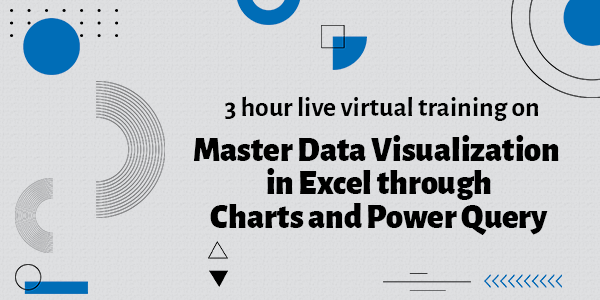 Master Data Visualization in Excel through Charts and Power Query