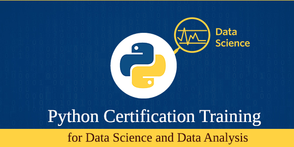 Python Certification training for Data Science & Data Analysis